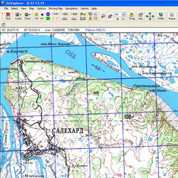 Ямало-Ненецкий АО. Карта для Oziexplorer.