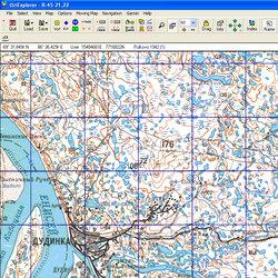Таймырский АО. Карта для Oziexplorer.