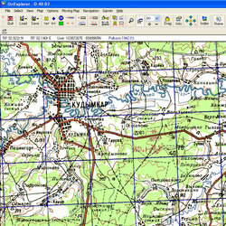 Коми-Пермяцкий АО. Карта для Oziexplorer.