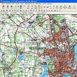 Челябинская обл. Карта для Oziexplorer.