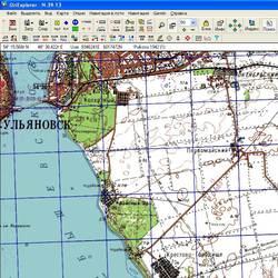 Ульяновская обл. Карта для Oziexplorer.