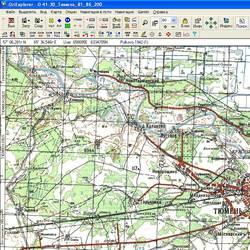 Тюменская обл. Карта для Oziexplorer.