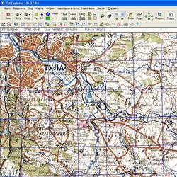 Тульская обл. Карта для Oziexplorer.
