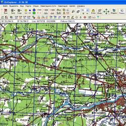 Тверская обл. Карта для Oziexplorer.