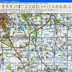 Смоленская обл. Карта для Oziexplorer.