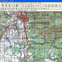 Сахалинская обл. Карта для Oziexplorer.