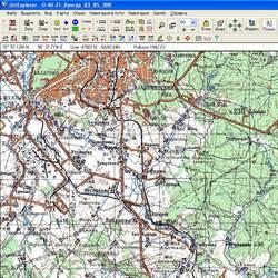Пермская обл. Карта для Oziexplorer.