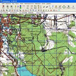 Пензенская обл. Карта для Oziexplorer.