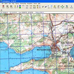 Магаданская обл. Карта для Oziexplorer.