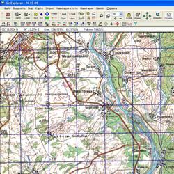 Кемеровская обл. Карта для Oziexplorer.
