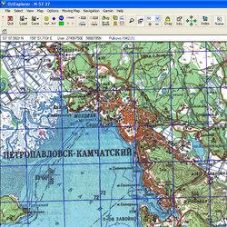 Камчатская обл. Карта для Oziexplorer.
