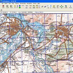 Республика Хакасия. Карта для Oziexplorer.