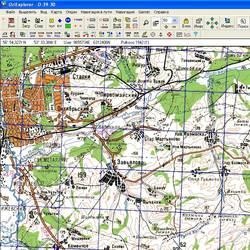 Республика Удмуртия. Карта для Oziexplorer.