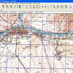 Республика Тыва. Карта для Oziexplorer.