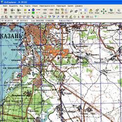 Республика Татария. Карта для Oziexplorer.
