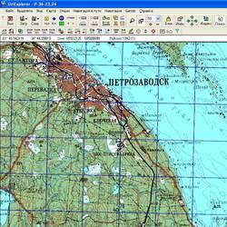 Республика Карелия. Карта для Oziexplorer.