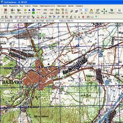 Кабардино-Балкарская респ. Карта для Oziexplorer.