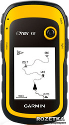 eTrex 10 Аэроскан