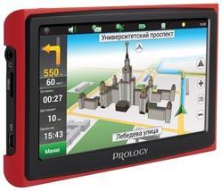 Автомобильный GPS навигатор Prology iMap-4300 Black/Red