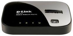Internet шлюз D-Link DIR-412 Wi-Fi 802.11b/g/n 150Mbps (support 3G/CDMA/HSDPA/UMTS, 1-WAN, 1-U