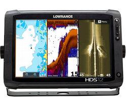 Картплоттер Lowrance НDS-12 ROW WIDE (GEN2 Touch) с сенсорным экраном